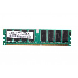 RAM-DIMM Micron and Samsung PC3200 400 MHz 1 GB