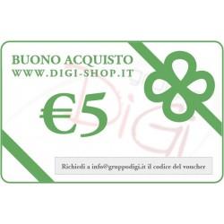 Buono Regalo da 5 Euro