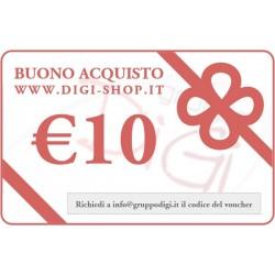 Buono Regalo da 10 Euro