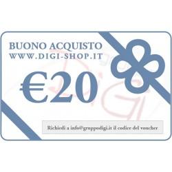 Buono Regalo da 20 Euro