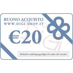 From 20 Euro gift voucher