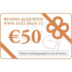 From 50 Euro gift voucher