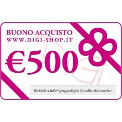 De cadeau de 500 euros