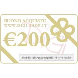 Du chèque cadeau 200 euros