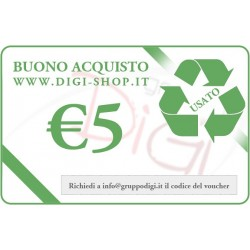 Gift certificate from 5 Euro (for the purchase of used goods)