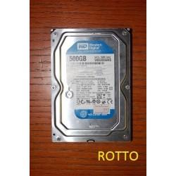 Western Digital Blue WD5000AAKS 500 GB (not working)