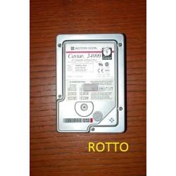 Western Digital Caviar 34000 4 GB (not working)