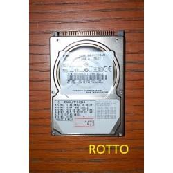 Toshiba MK4025GAS 40 GB (not working)