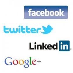 Создать социальные профили