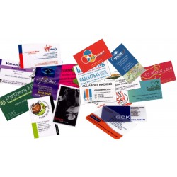 2000 double-sided business cards Print 4 colors 300 g