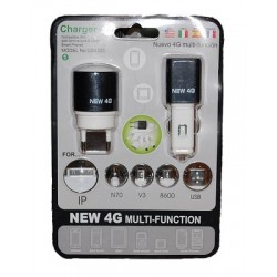 Kit USB333 nieuwe 4 g lader multifunctionele